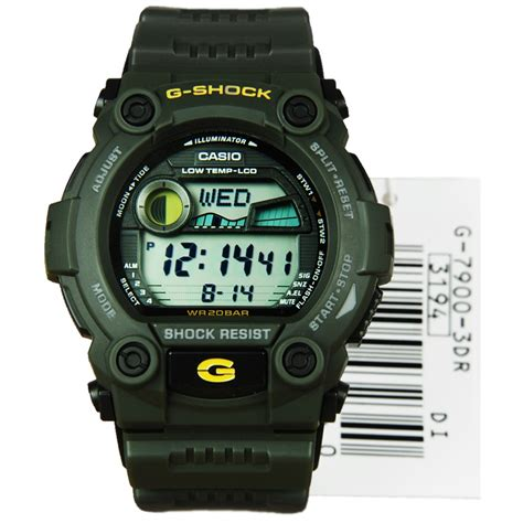 G Shock G 7900 3dr G 7900 g 7900 3 g7900 casio g shock g rescue cold resistant