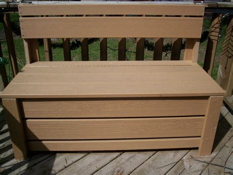 storage bench plans outdoor  woodworking