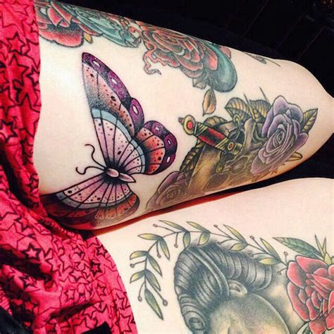 100 thigh tattoos for women thigh tattoo designs