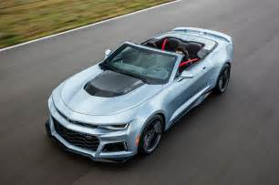 Chevrolet Convertible 2017 Chevrolet Camaro Zl1 Convertible Arrives In Early