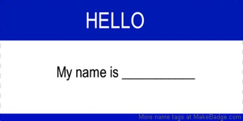 name tag design template employee name tags best practices 4 dos don ts makebadge