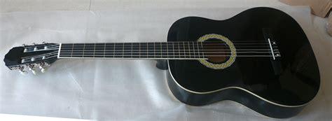 Glitter Abs Guitar Binding W abs blanc de guitare classique du basswood 39inch liant