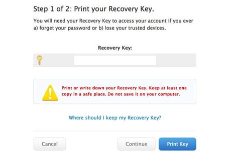 resetting recovery key how to reset and get a new apple recovery key