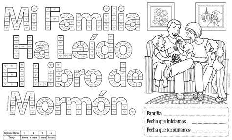 libro that was the church quot mi familia ha le 237 do el libro de mormon quot church mormones mi familia y leer