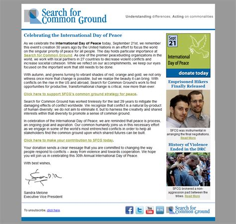 dreamweaver html email templates fundraising ask email brendan mccourt