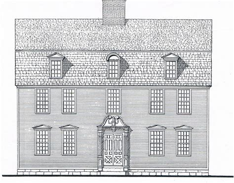 william e poole designs eighteenth century house 18th century style house plans