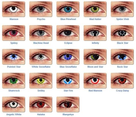 cool colored contacts best 25 cheap contact lenses ideas on