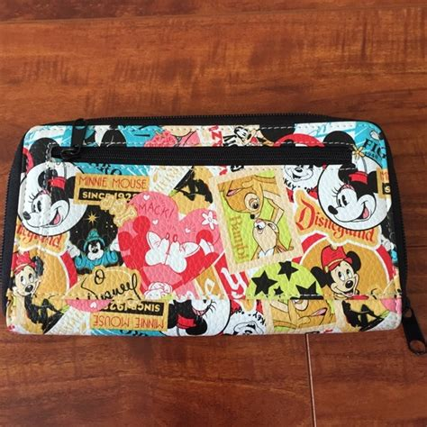 63 disney clutches wallets retro mickey mouse zip around wallet from nothing more than