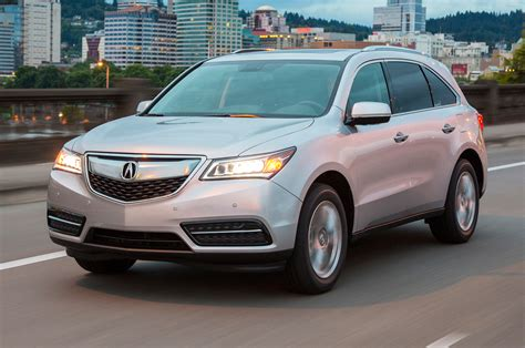 2016 acura mdx front side motion view photo 2