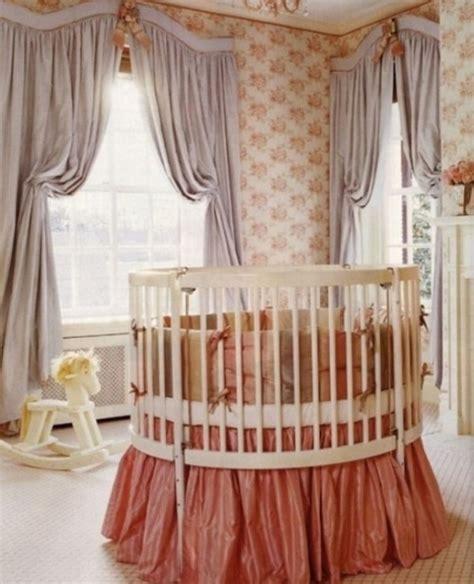 crib curtain 13 luxurious nursery bedroom design ideas kidsomania