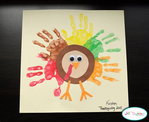turkey craft preschool crafts for thanksgiving rainbow handprint