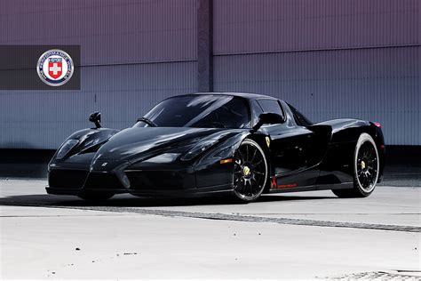 all black ferrari black ferrari enzo on hre wheels autoevolution