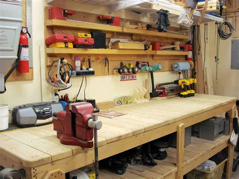 workbench designs for garage cool garage workbench ideas and plans best house design