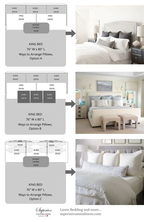 how to arrange pillows on king bed best 25 pillow arrangement ideas on bed