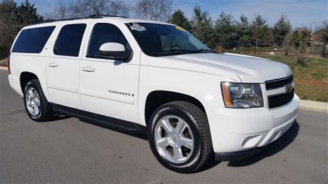 SOLD.2007 CHEVROLET SUBURBAN LTZ 4X4 SUMMIT WHITE 1 OWNER 173K for sale Call 855 507 8520 YouTube