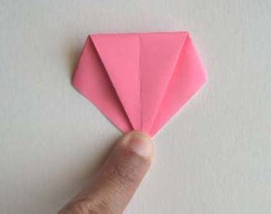 langkah membuat origami bunga lily cara membuat origami bunga lily tutorial kerajinan tangan