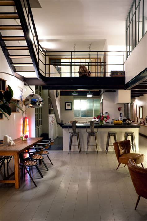 loft in a house a loft home in bagnolet france wave avenue