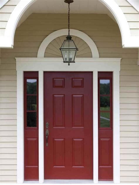 what color to paint doors shades of red daley decor with debbe daley