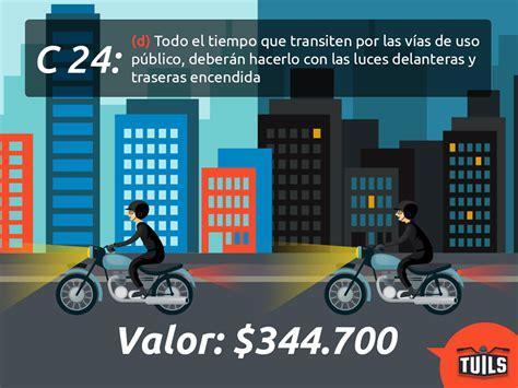 tarifa tecnomecanica moto 2016 neiva nuevas tarifas de comparendos de motos y multas para 2016
