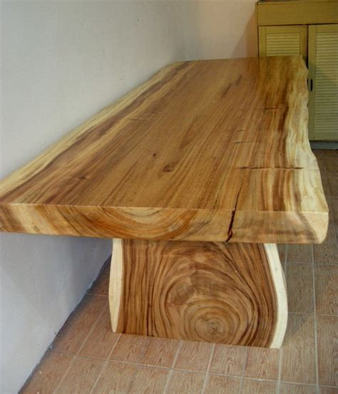 Natural Wood Dining Room Tables by Natural Wood Table Rustic Dining Room Houston By