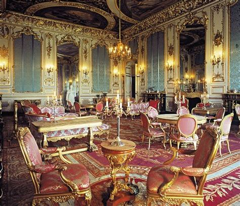 Louis Xiv Interior Design by Gold Room Harlaxton Manor Archives