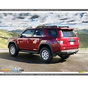 Salsa Red Pearl 2011 Toyota 4Runner Trail 4x4 Photo 3