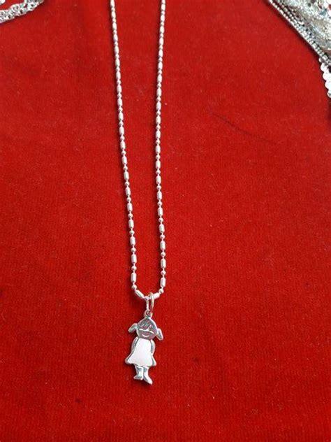 cadenas para hombre con dije cadena de plata iataliana con dije romina natalia