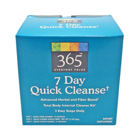 7 Day Total Detox by 365 7 Day Cleanse Detox Free Trial
