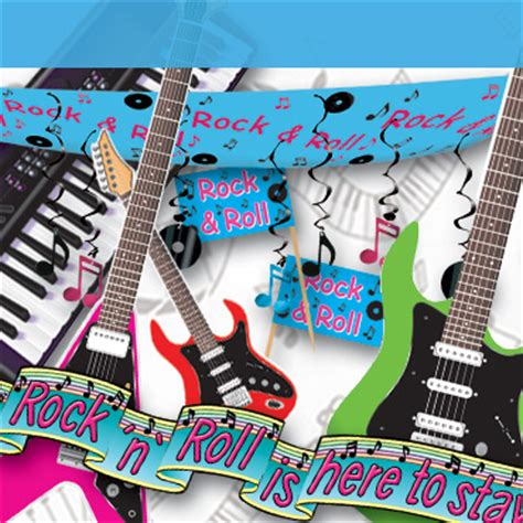 rock and roll theme decorations theme decorations supplies partycheap
