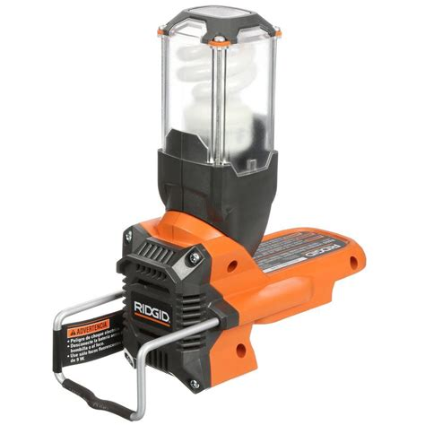 retractable work light home depot ridgid x3 site light console tool only retractable
