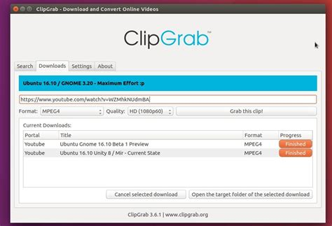 download mp3 from vimeo clipgrab let s you download youtube vimeo videos in ubuntu