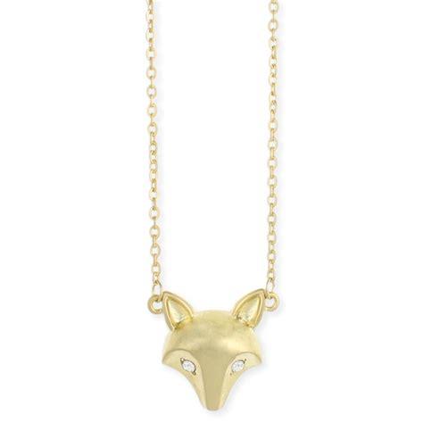 wholesale gold fox necklace zad fashion costume