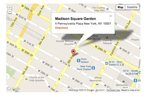Map Of Square Garden by Wp Map Plugin For