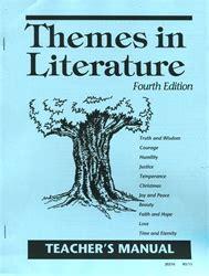 themes of literature abeka a beka literature exodus books