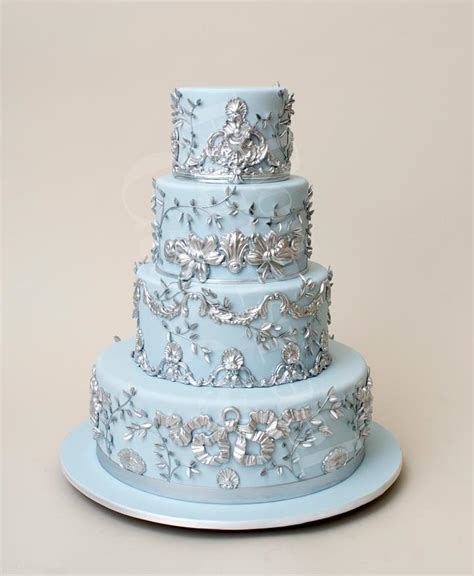 wedding cake toppers blue wedding cake toppers