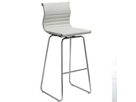 dreamfurniture com t 1084 eco white leather t 1084 eco white leather oxygen bar stool white bar