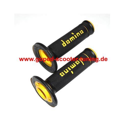 Handgrip Gas Scoot Domino Handgrip Pair Yellow 125 001 01 Goped Scooter Tuning