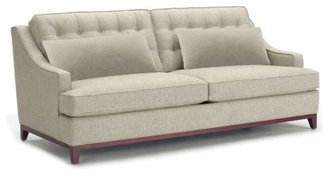 bannister sofa woven gravel transitional sofas by apt2b