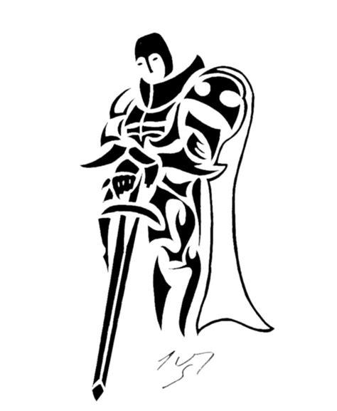 warrior crusader tattoos