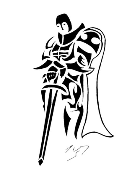 tribal tattoo knight tribal series 44 by sakashima on deviantart