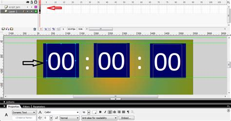 membuat jam digital dengan javascript cara membuat jam digital dengan macromedia flash 8