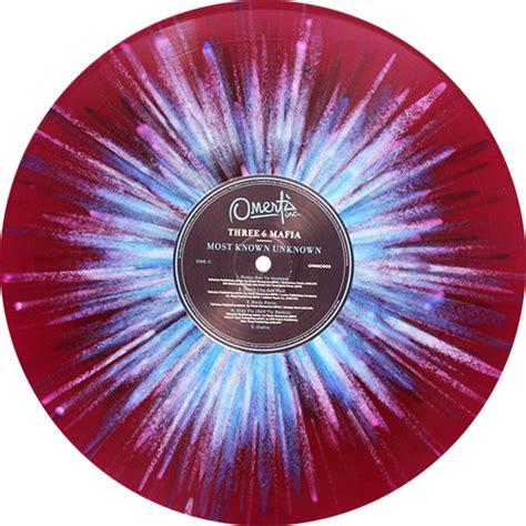 colored vinyl records three 6 mafia most known unknown colored vinyl