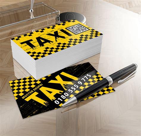 Visitenkarten Taxi by Taxi Visitenkarten Design Vk013a F 252 R Despri De Design