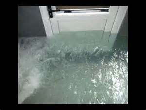 Flood Proof Letterbox Flash Flood Door Flood Door Barrier Protection Tested