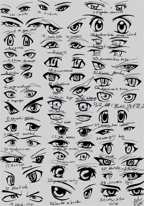 anime eyes male 39 male anime eyes by eliantart on deviantart