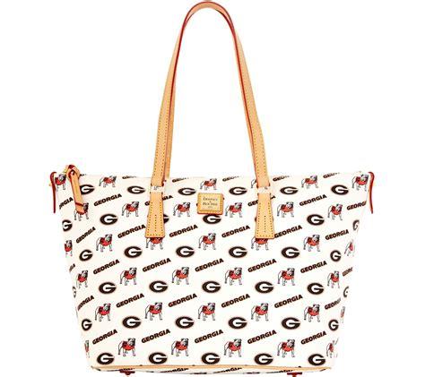 Gustto Costella Zip Top Shopper by Dooney Bourke Ncaa Of Zip Top Shopper