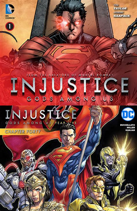 injustice gods among us year two the complete collection injustice gods among us year one five 2013 2016