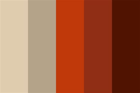brick color minimal brick color palette