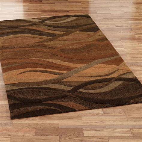 Rarea Rugs by Casanova Wool Abstract Area Rugs