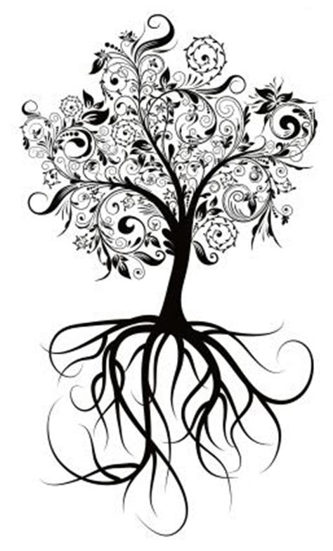 Libra0130 Wall Sticker Colorful Bird tree patterns for tattoos lovetoknow